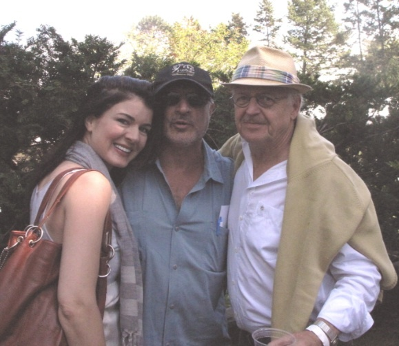 Gabrielle Miller and Eric Peterson (Corner Gas)